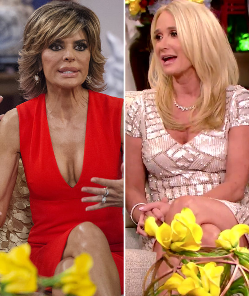 'You're a Really Sick Woman': Lisa Rinna and Kim Richards' #BunnyGate Escalates…