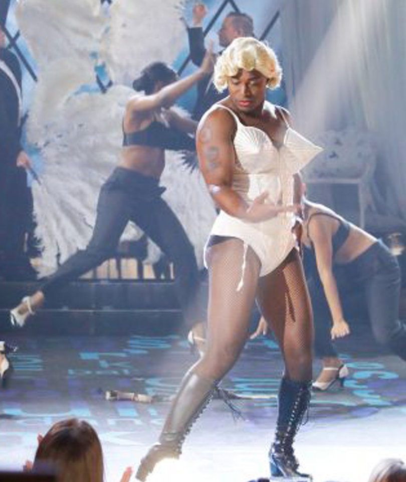 Taye Diggs Strikes A Pose in Madonna 'Vogue' Drag for 'Lip Sync Battle' (Video)