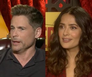 Rob Lowe, Salma Hayek Talk Real-Life Naughty Role-Playing