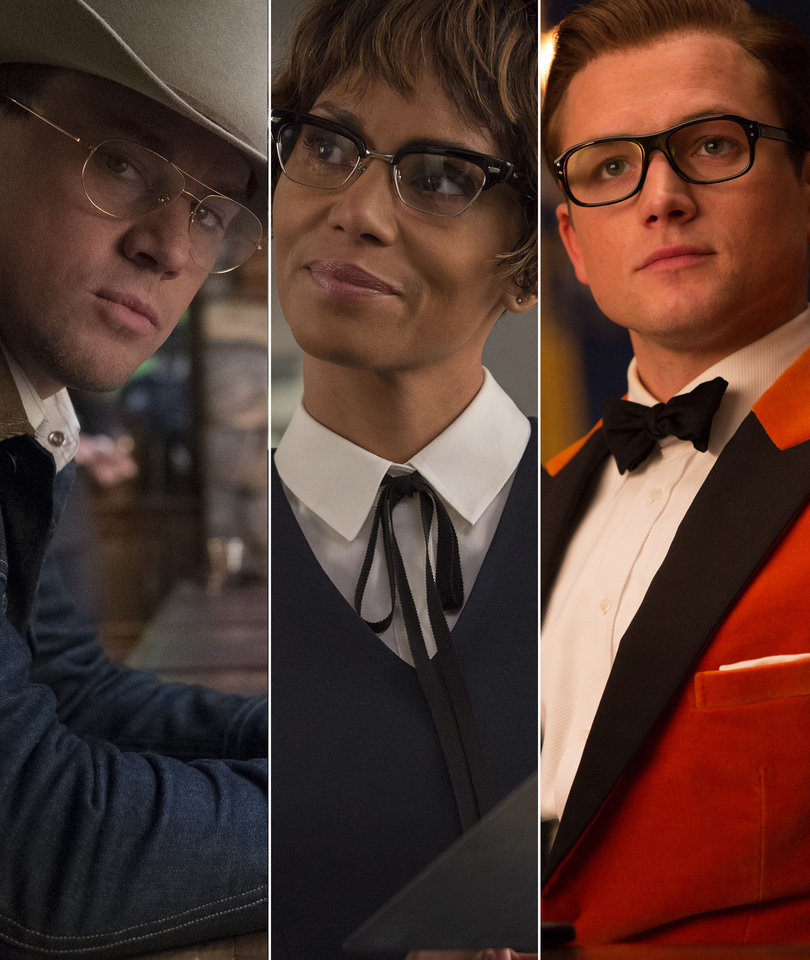 Channing and Halle Join Eggsy In Explosive 'Kingsman: The Golden Circle' Trailer