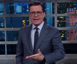Stephen Colbert Laughs at Trump for Comparing His Ratings to 9/11