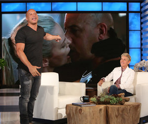 Vin Diesel Reacts to Charlize Theron's 'Dead Fish' Kiss Diss (Video)