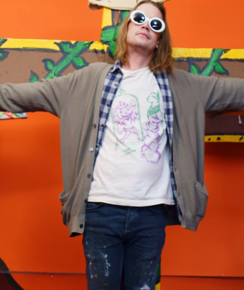 This Video of Macaulay Culkin Being Crucified Is the Weirdest Thing You'll See…