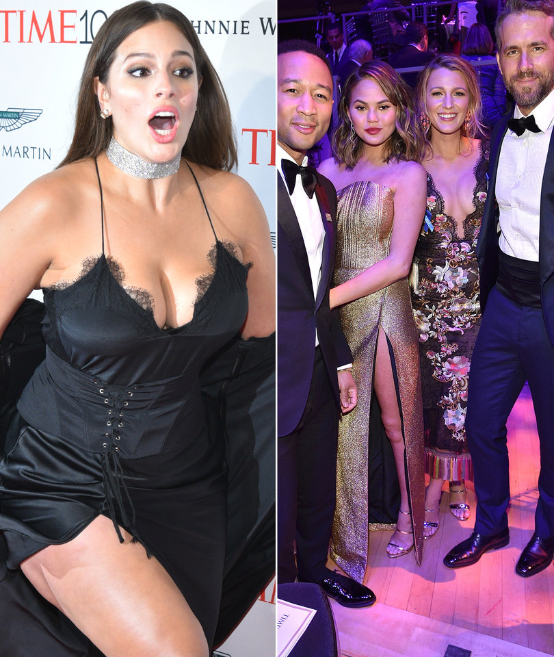 Ashley Graham Nearly Takes a Tumble and More Time 100 Gala Sightings