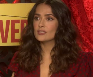 That Time Salma Hayek Was A Mile High And Role Played With Her Boyfriend (Exclusive Video)