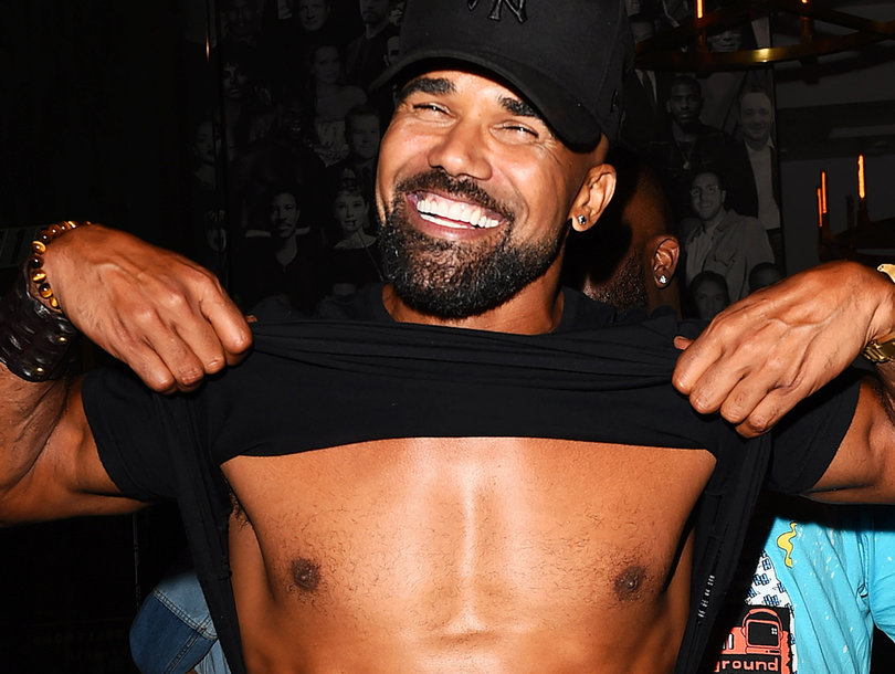 Shemar Moore Flashes Flawless Abs Leaving Catch LA