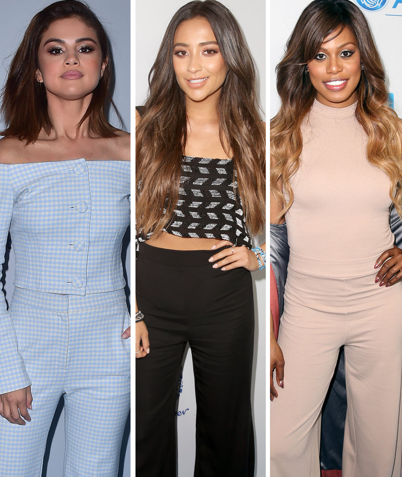 Selena, Shay, and Laverne Attend WE Day California 2017