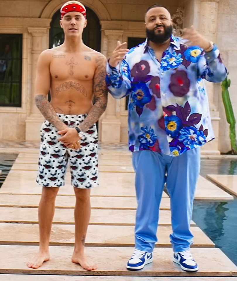 DJ Khaled's 'I'm the One' Video Mixes Shirtless Justin Bieber with Dancing…