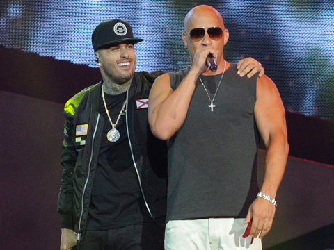 Diesel Makes His Rap Debut with Surprise Performance at the Latin Billboard Awards