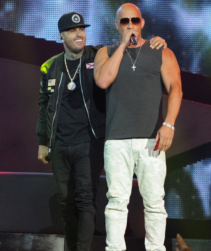 Diesel Makes His Rap Debut with Surprise Performance at the Latin Billboard…