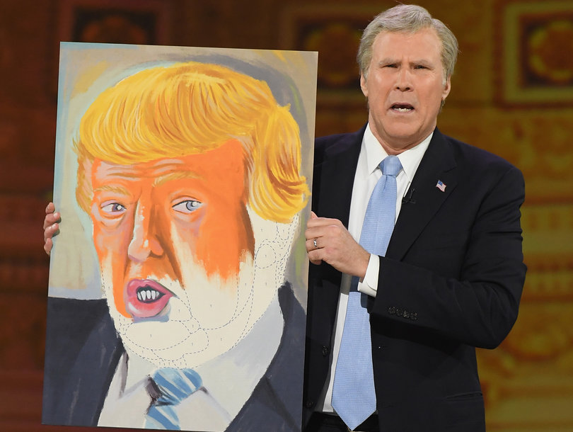 Ferrell Roasts Trump with Bush Impersonation At Bee's Alternative WHCD Bash