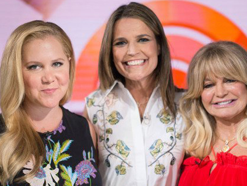 Amy Schumer Tells Dirty Joke on 'Today' After Host Warns 'Stay Classy'