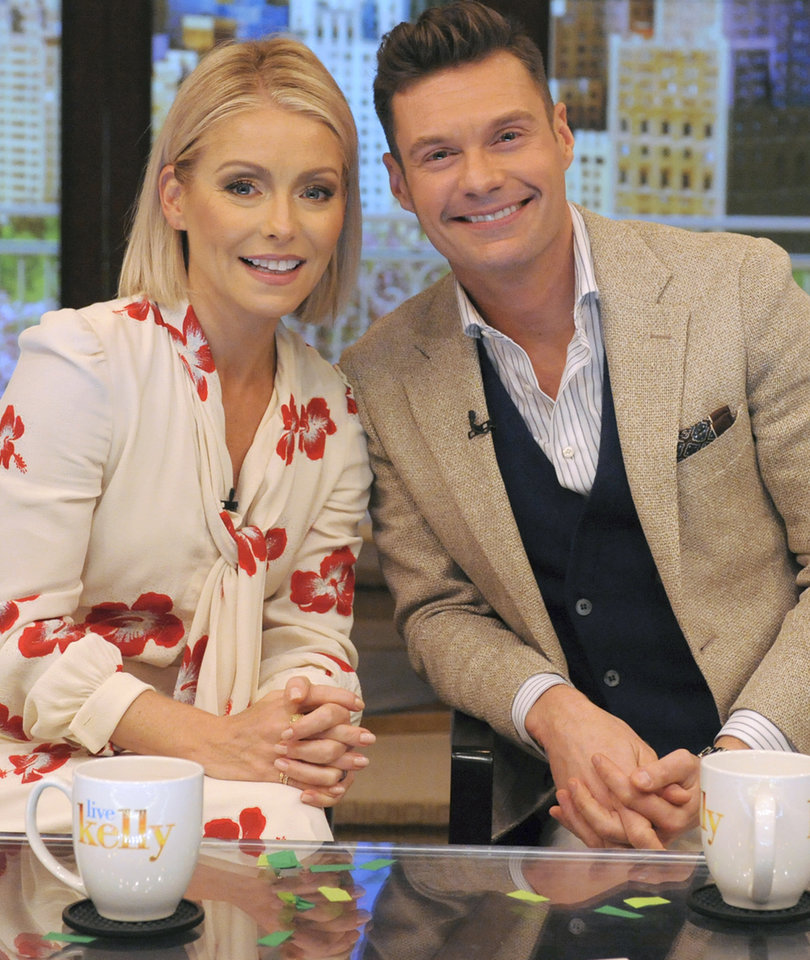 Kelly Ripa Names Ryan Seacrest As New Co-Host of 'Live'