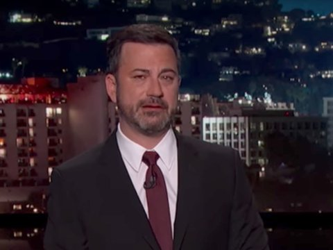 Kimmel Fights Through Tears to Detail Newborn Son's Heart Surgery