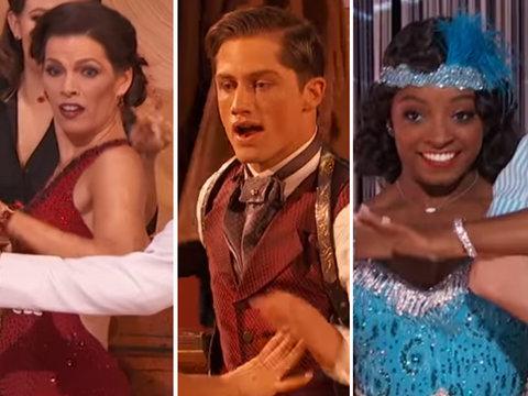 'DWTS' Double Elimination Sends Home Better Dancers