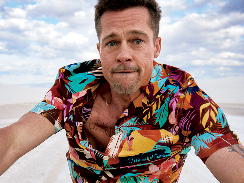 Brad Pitt Quit Boozing, Smoking and Slept on Friend's Floor After Split - 9 Revelations from GQ Cover (Photos)