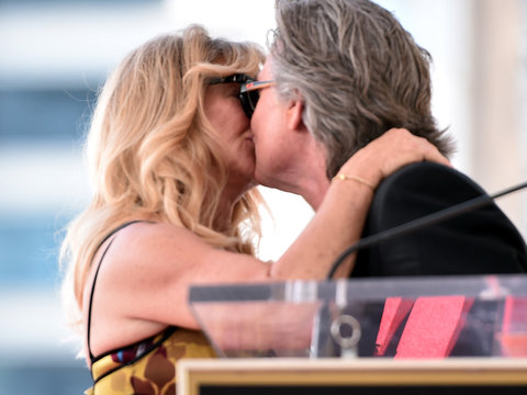 Goldie Hawn and Kurt Russell Honored with Double Star Ceremony