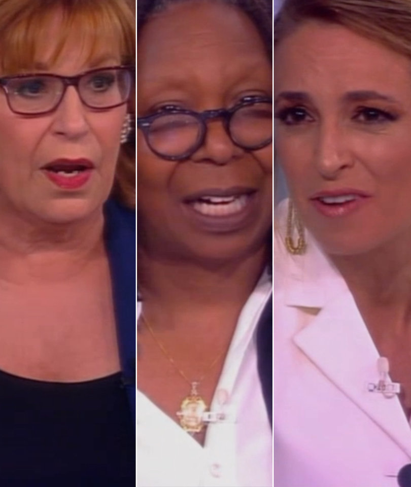'The View' Defends Stephen Colbert From Trump Joke Backlash