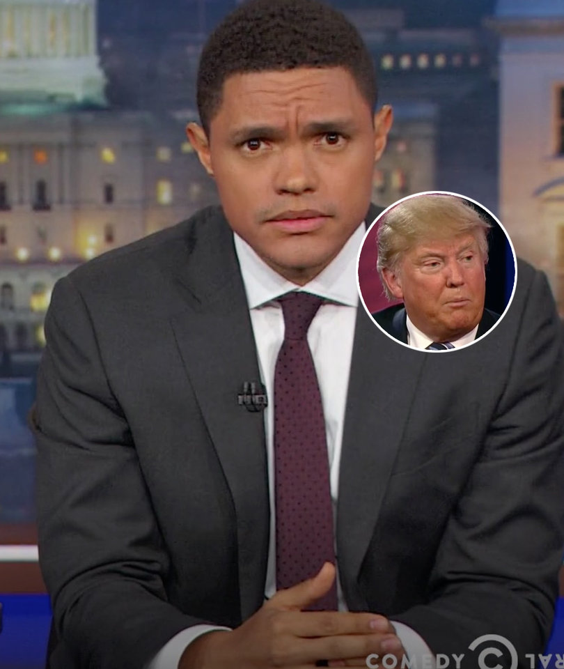 Trevor Noah on Why Trump Voters Should Be Pissed About Healthcare Bill