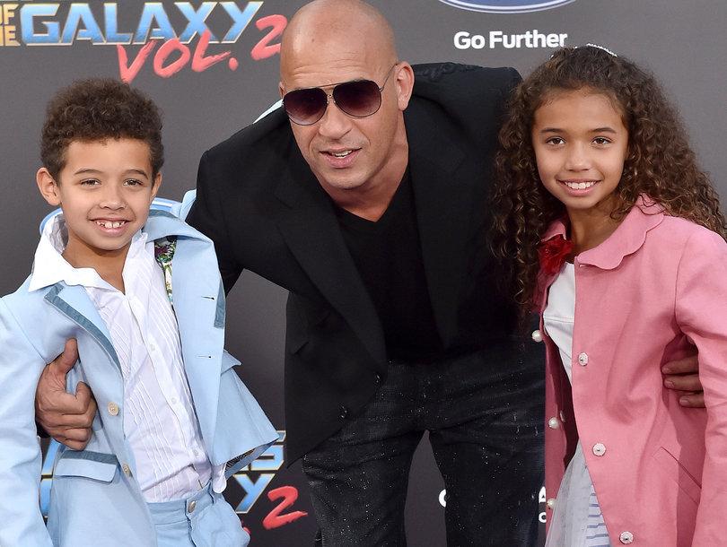 Vin Diesel and His Kids Sing J-Hud Cover in Their Own Version of Carpool Karaoke (Video)