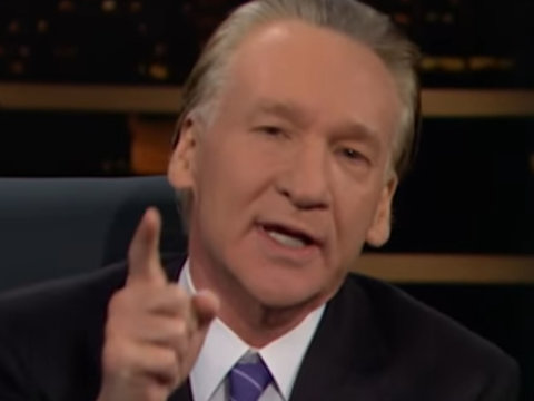 Maher Slams Liberal Purists: 'Go F--k Yourselves With a Locally Grown Organic Cucumber'