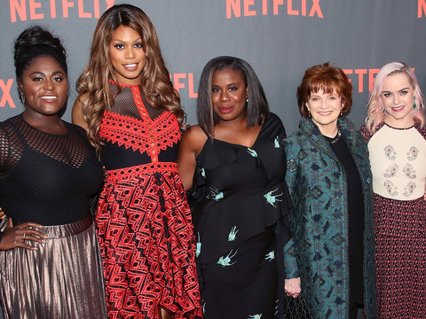 'OITNB' Cast Goes Glam for For Your Consideration Event