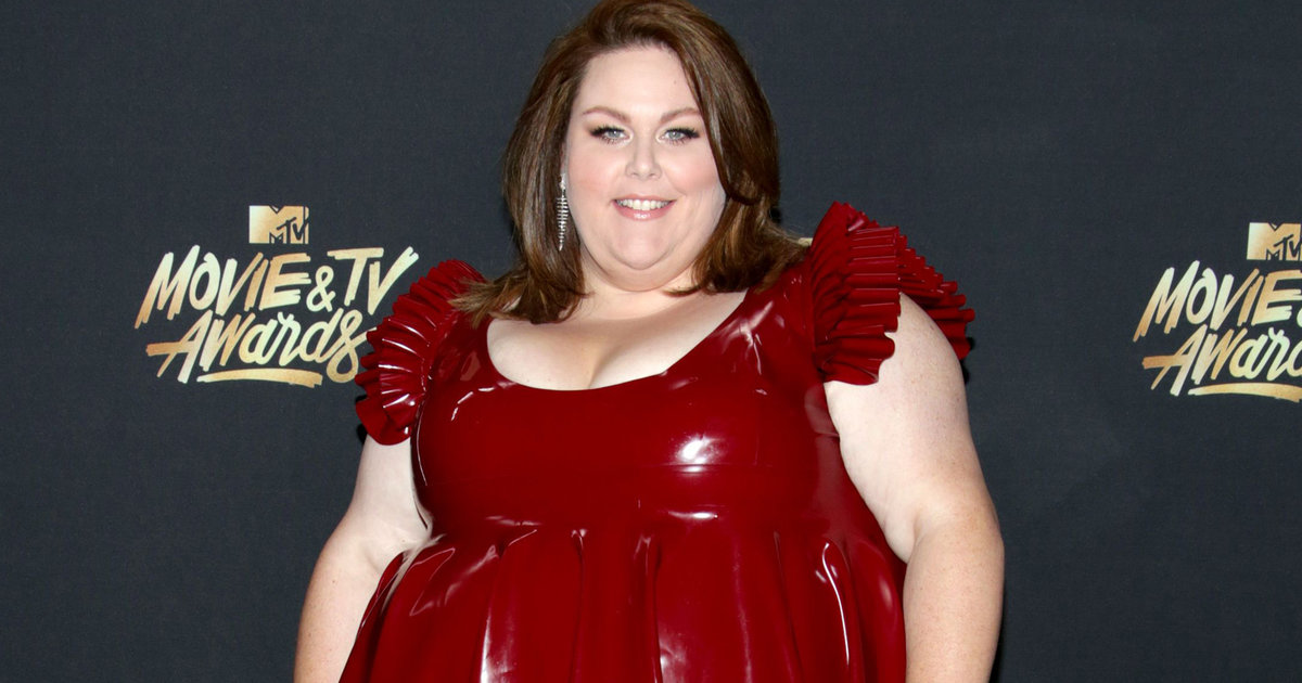 Chrissy Metz Fires Back at Body Shaming Over Her Latex Dress at MTV ...