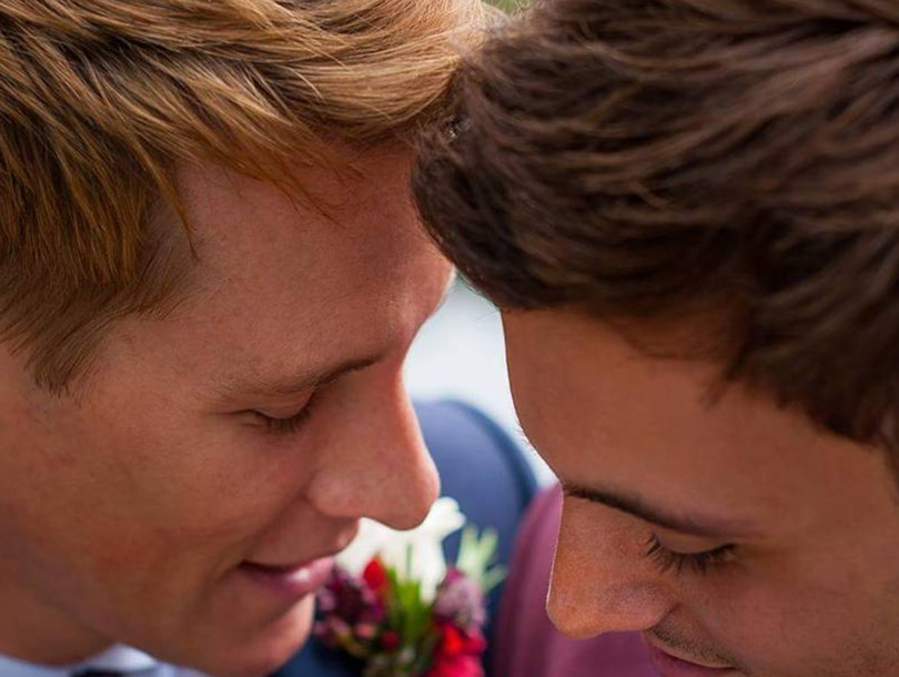 Dustin Lance Black and Tom Daley Tie the Knot at English Castle