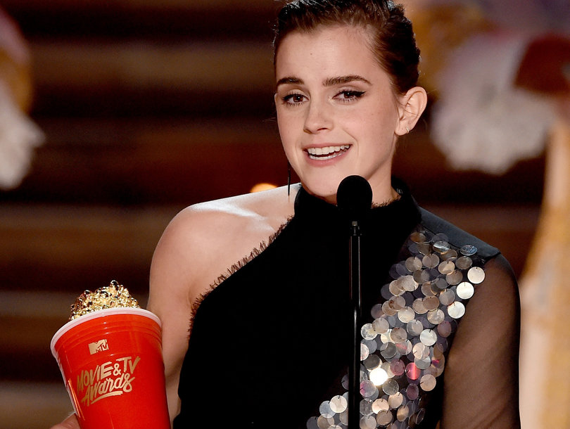 Emma Watson Wins First Gender-Neutral MTV Movie & TV Award for Best Actor