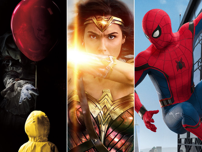 Four new promotional posters for Spider-Man: Homecoming