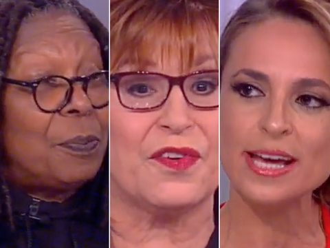 'The View' Questions Comey's Firing and Shades Kellyanne Conway: 'She Came Out of Her…