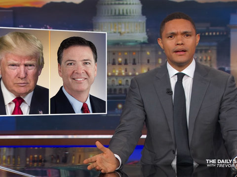 Trevor Noah Calls Trump's Excuse to Fire FBI Director Comey 'Insane'