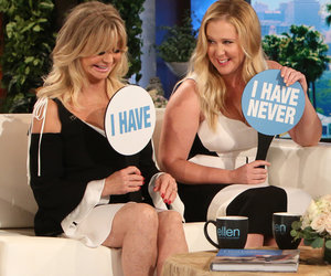 Amy Schumer Can't Compete With Goldie Hawn's Sex Life on 'Ellen'