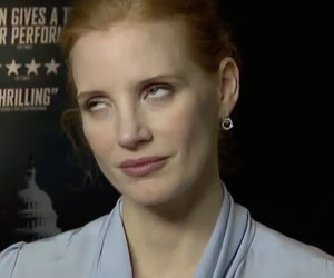 Jessica Chastain's Epic Eye Roll After Johnny Depp Question Goes Viral
