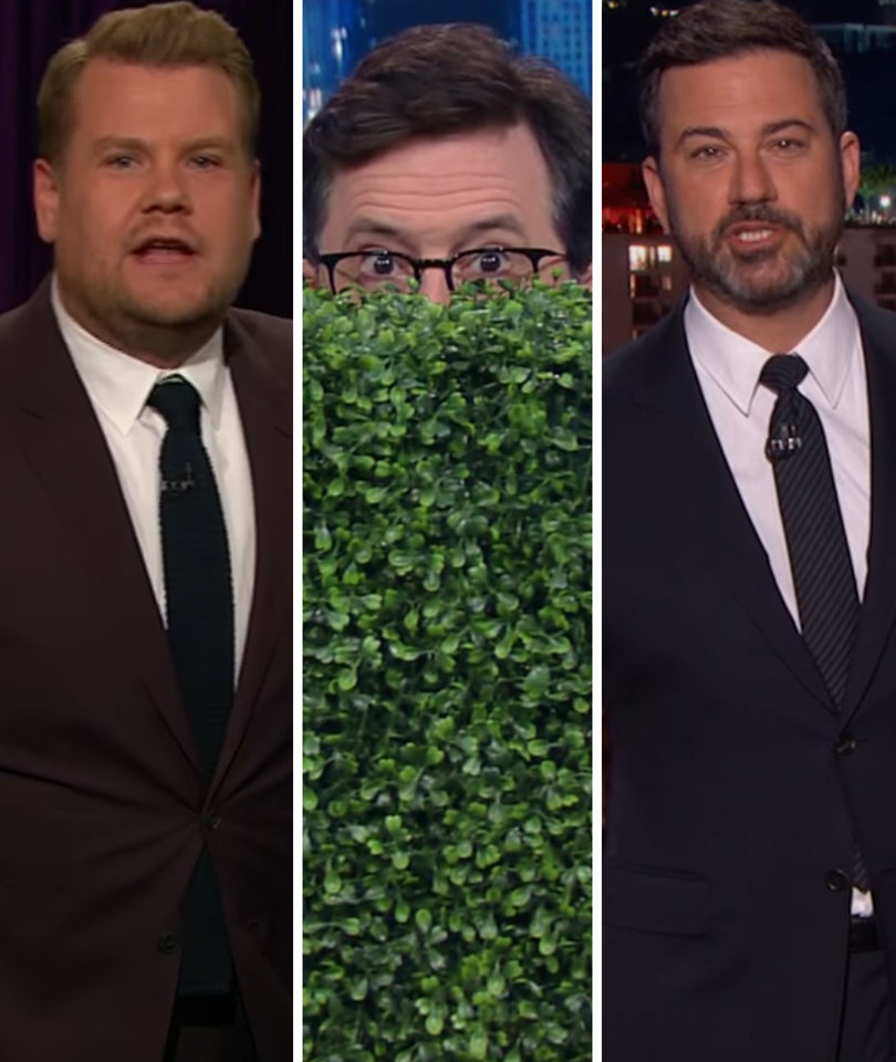 Late-Night Hosts Continue to Rage Against Donald Trump for Firing Comey