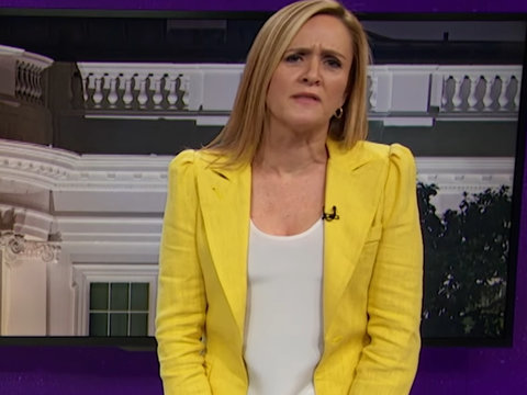 Sam Bee Unloads on Trump's 'Clusterf--k of Impulsiveness' for Firing Comey