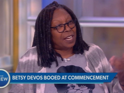 Booing of Betsy DeVos at Commencement Speech Ignites Debate on 'The View'