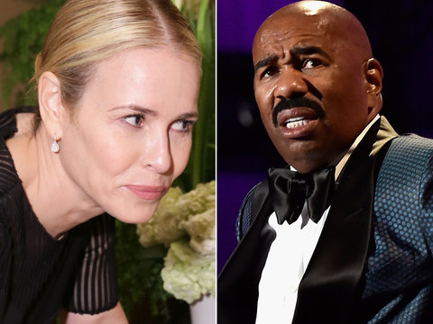 Chelsea Handler Edits Steve Harvey's Insane Demand Memo: 'No Stopping By ... UNLESS YOU…