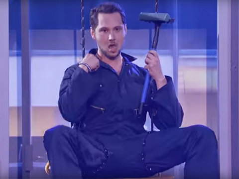 Shondaland Showdown! Matt McGorry's Body Roll vs. Bellamy Young's Lady Gaga on 'Lip Sync…