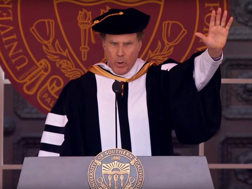 Will Ferrell Belts Out Whitney Houston's 'I Will Always Love You' for USC…