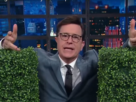 Colbert Mocks Trump's Firing of Comey: It's Like 'Godfather' But Nobody Respects The Don