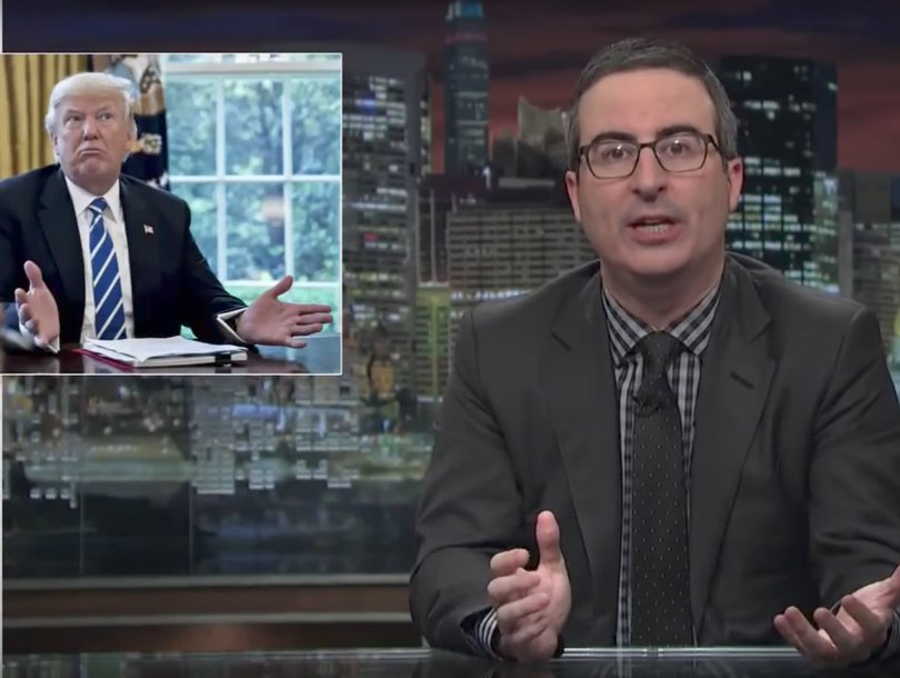 John Oliver Blasts Congress for Not Checking or Balancing Trump