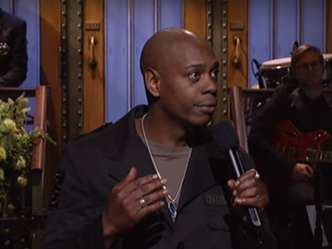 Dave Chappelle Is Sorry for Saying Give Trump A Chance: 'I F---ed Up'