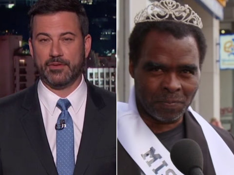 Jimmy Kimmel Proves Miss USA Questions Can Make Anyone Look Stupid