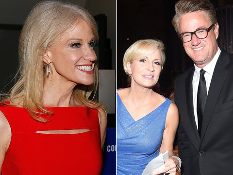 Kellyanne Conway Fires Back at 'Morning Joe' for Saying She's Supporting Trump for the…