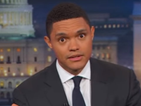Why Trevor Noah Thinks Trump Just Proved Aliens Don't Exist