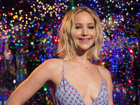 Jennifer Lawrence Pole Danced at a Strip Club and 'Had a BLAST'