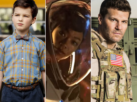 Trailers for CBS' New Series: 'Young Sheldon,' 'Star Trek: Discovery' and More