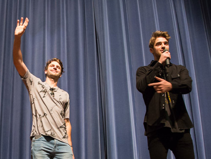 See The Chainsmokers Surprise One Lucky Group of High School Students