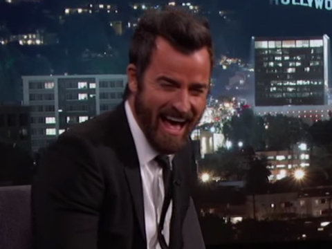 How Jimmy Kimmel Pranked Justin Theroux With Jennifer Aniston's Help